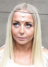 Gold Sea Shell Drop Headband Ibiza Headpiece Hair Jewellery Head Chain Boho 1200