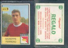 R@R@ FIGURINA CALCIATORI MIRA 1965/66* MONZA, FERRERO -NEW,PERFECT,EDICOLA