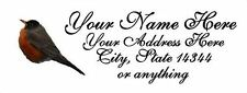 "30pcs Personalized LuckyBird Return/Mailing Address labels 1""x2.625"" Free S/H"