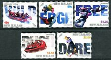 2004 New Zealand - Extreme Sports MUH Set of 5 Stamps