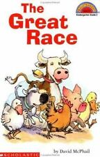 Hello Reader! The Great Race Level 2 by David McPhail Paperback New