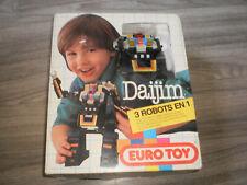 robot Daijim Euro Toys en boite -  YONEZAWA 1983 bootleg ko