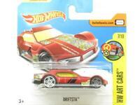 Hotwheels Drifsta HW Art Cars Red 63/365 Short Card 1 64 Scale Sealed New