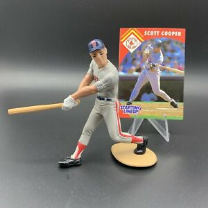 1995 Starting Lineup - Scott Cooper w/ Card - Boston Red Sox (Loose Figure)