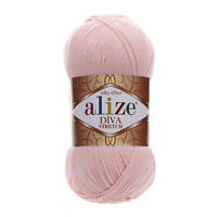Alize Bikini Yarn Diva Stretch Acrylic Yarn Thread Crochet Hand Knitting