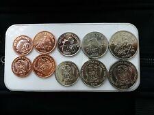 SAO TOME Principe St Thomas 2017 set 5 coins UNC #B1
