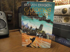 True 1st/1st Malazan Book of the Fallen: Gardens of the Moon 1 by Steven Erikson
