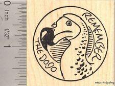 Remember the Dodo Bird Rubber Stamp G13208 WM