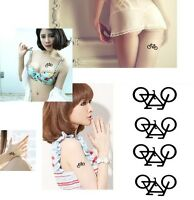 FD3920 Personality Bikes Removable Waterproof Temporary Tattoo Body Stickers