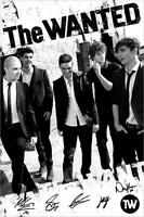 The Wanted : Black & White - Maxi Poster 61cm x 91.5cm new and sealed