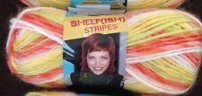 Caron Vickie Howell Sheep(ish) Stripes Yarn-Citrus(ish)