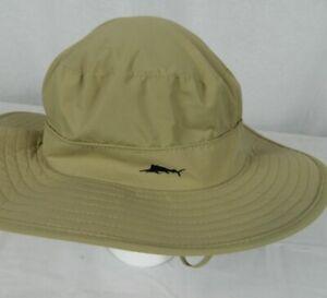 Tommy Bahama Khaki Cool Max L/XL Nylon Hat NEW