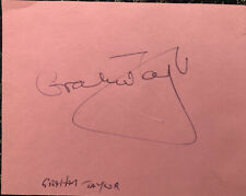 Signed Graham Taylor Freddie Kanoute Watford FC Football Autograph England