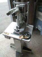 Rodenstock RO2000 SPALTLAMPE mit HAAG & STREIT T 900 Tonometer mit Hubtisch