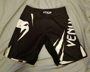 Venum MMA Fight Shorts Black/White XS
