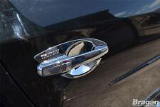 Passend für 2015 +Mitsubishi L200/Triton/Strada Chrom Türgriff Abdeckung 4pce