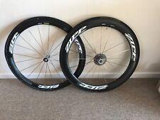 Zipp 404/303 Carbon Fibre Tubular Road/TT Bike Wheelset Shimano 105 10 Spd Cass.