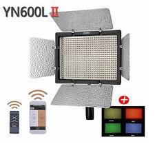 YONGNUO YN600II YN600L II Pro LED Video Light Studio with 3200 5500K Color Tempe