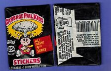 GARBAGE PAIL KIDS SERIES 5 UNOPENED PACK  5 STICKERS FROM BOX GPK