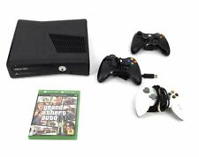 Microsoft Xbox 360 Console & Controller(s) Lot with One Game