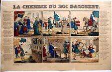 Imagerie populaire, Pellerin, La Chemise du Roi Dagobert