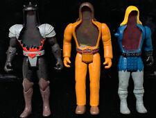 Lot Of 3 Vintage 1987 Tonka Super Naturals Thunder Bolt Burnheart Eagle Eye Figs