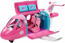 Barbie Dream Plane Playset 15Pc Vehicle Rolling Wheels Snack Cart Compartments