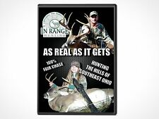"""In Range Hunting - """"As Real As It Gets"""" Hunting in Ohio DVD  60min"""