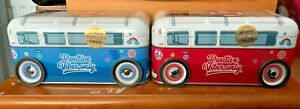 Positive Vibes, Retro Camper Van Biscuits,  Choice of Red or Blue!