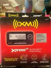 AUDIOVOX XPRESS EZ XM SATELLITE RADIO RECEIVER W/CRADLE & CAR ANTENNA