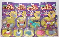 Vintage 9 figure LOT MOC AAAHH! Real Monsters Mattel 1995 Nickelodeon CASE FRESH