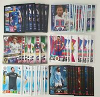 2019 2020 Topps Panini Football Cards EPL / UEFA - Lot of 100 cards inc 10 shiny