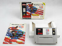 World Cup USA 94 SNES Super Nintendo Boxed PAL