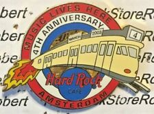 2003 HARD ROCK CAFE AMSTERDAM 4TH ANNIVERSARY MUSIC LIVES HERE TROLLEY LE PIN