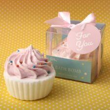 25 Adorable Pink Cupcake Bath Bomb Fizz Spa Wedding Bridal Shower Party Favors