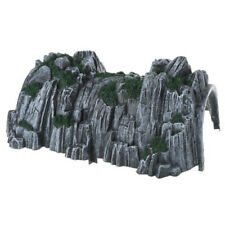 1Pcs Simuliert Zug Eisenbahn Zug Höhle Tunnel Modell Spielzeug 17.8*13.7*9.5cm