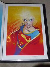 MICHAEL TURNER ASPEN DC  - SUPERGIRL #1 ART PRINT BY MICHAEL TURNER 13x19