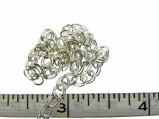 Sterling Silver 4.2mm Double-Cable Charm Chain Spool 155 feet