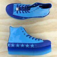 Converse x Miley Cyrus Chuck Taylor All Star Platform High Top Blue 563724C Size