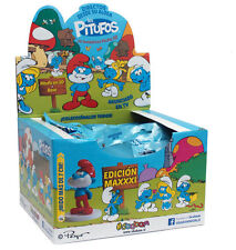 Pitufos Smurfs - Sbabam 7'5 cms high with magazine - Exhibitor 12 Units