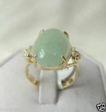 Genuine Noblest green Jade lady's Ring SIZE 7#, 8#, 9#