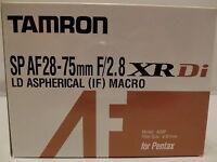 TAMRON SP AF 28-75mm F/2.8 XR Di LD Aspherical[IF]MACRO Model A09 for Pentax K