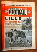 RARE FRANCE FOOTBALL n° 190 de 1949 LILLE REIMS OM BORDEAUX ANDERLECHT FRANCE