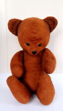 "22"" Big Vintage Antique Plush USSR Soviet Steiff Teddy Bear Straw Filled 1950's"