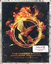 Hunger Games Collection - Steel Book (Blu-Ray + DVD + Digital) See Details - New