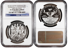 2013-P Proof $1 Silver Five Star General NGC PF70UC First Releases