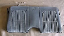 97 Camaro Z28 30th Anniversary Med Gray Cloth Rear Upper Seat Back 1015-11
