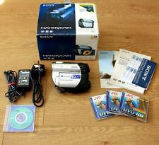Sony Handycam DCR-DVD106E Camcorder Mini DVD PAL zoom ottico 40x visione notturna