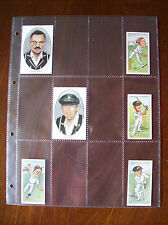 MULTIMASTER SYSTEM QUALITY 12 Pocket CIGARETTE CARD ACID FREE PAGES Pack of 10