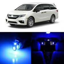 15 x Blue LED Lights Interior Package Kit For Honda Odyssey 2018 - 2019 + TOOL